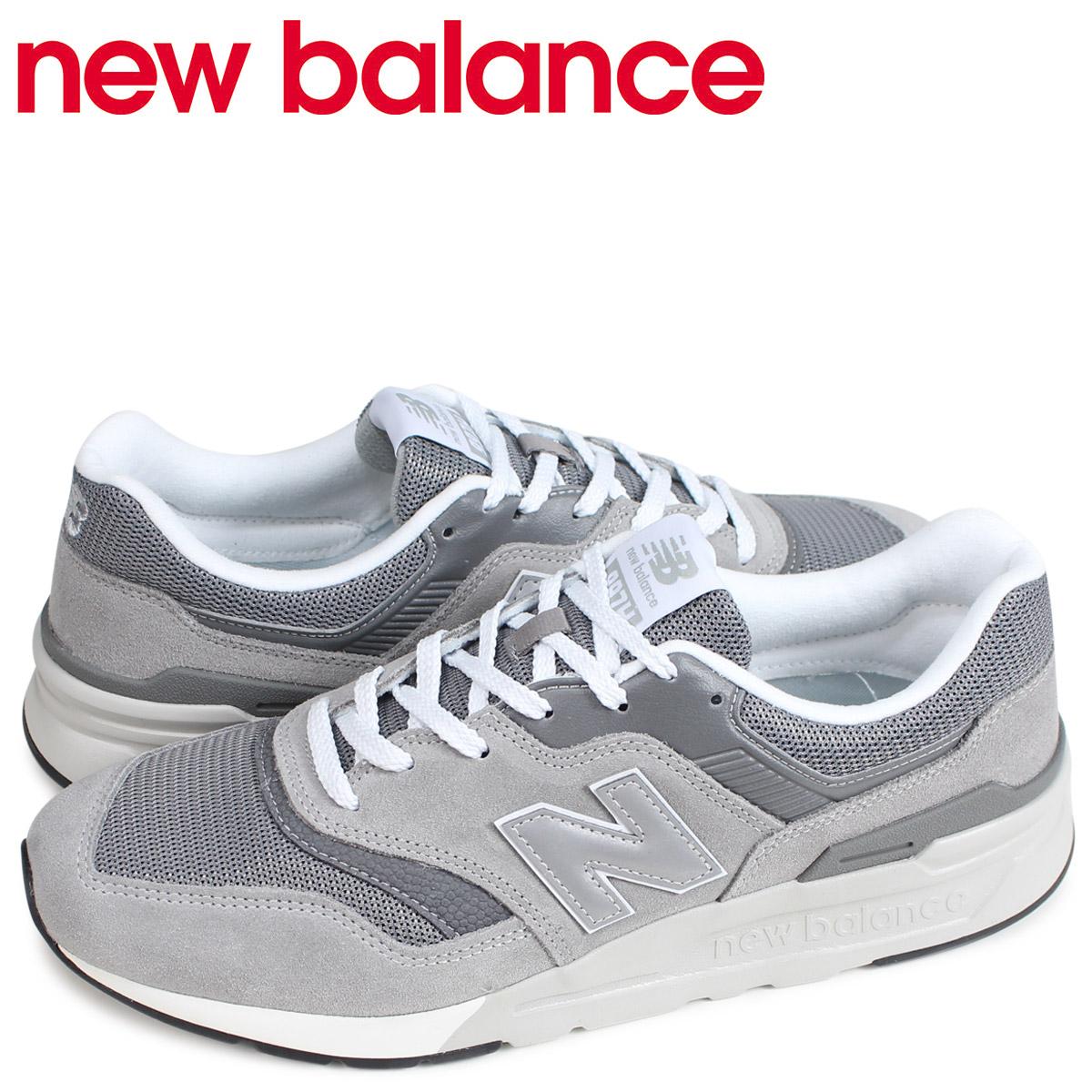【お買い物マラソンSALE】 ニューバランス new balance 997 スニーカー メンズ Dワイズ グレー CM997HCA