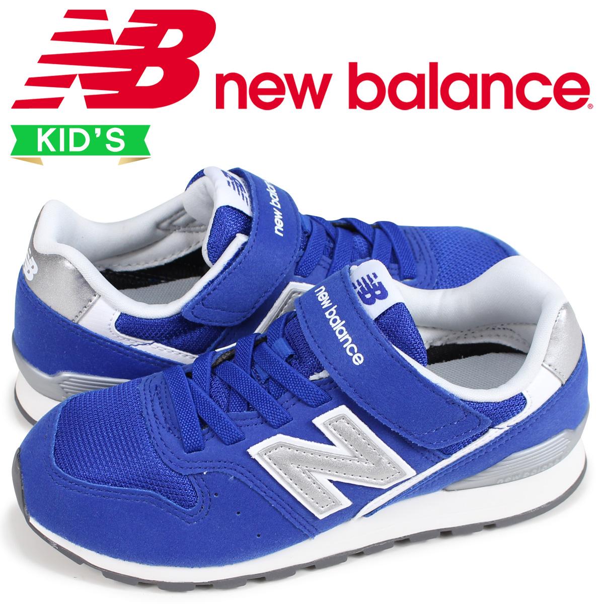 ニューバランス new balance 996 キッズ スニーカー KV996BYY Dワイズ ブルー