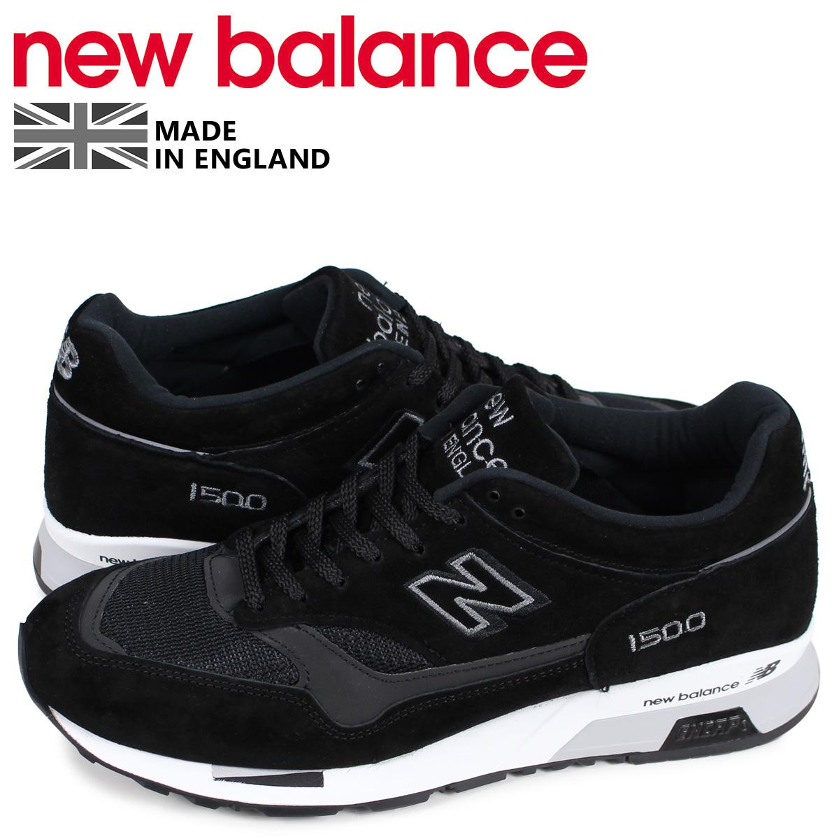 premium selection 08eb9 769cd New Balance new balance 1500 sneakers men D Wise MADE IN UK black black  M1500JKK