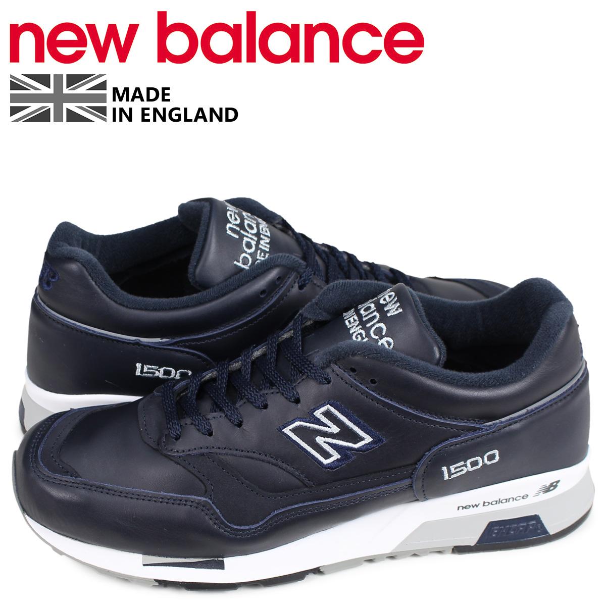 ニューバランス new balance 1500 スニーカー メンズ Dワイズ MADE IN UK ネイビー M1500NAV [4/14 再入荷]