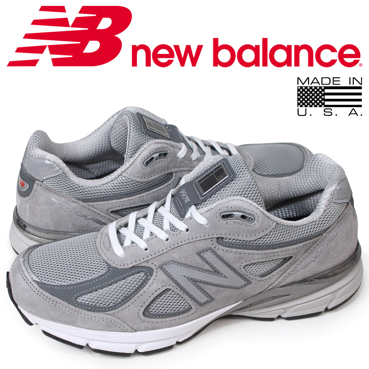 sale retailer 7719a b5745 New Balance new balance 990 sneakers men D Wise gray M990GL4