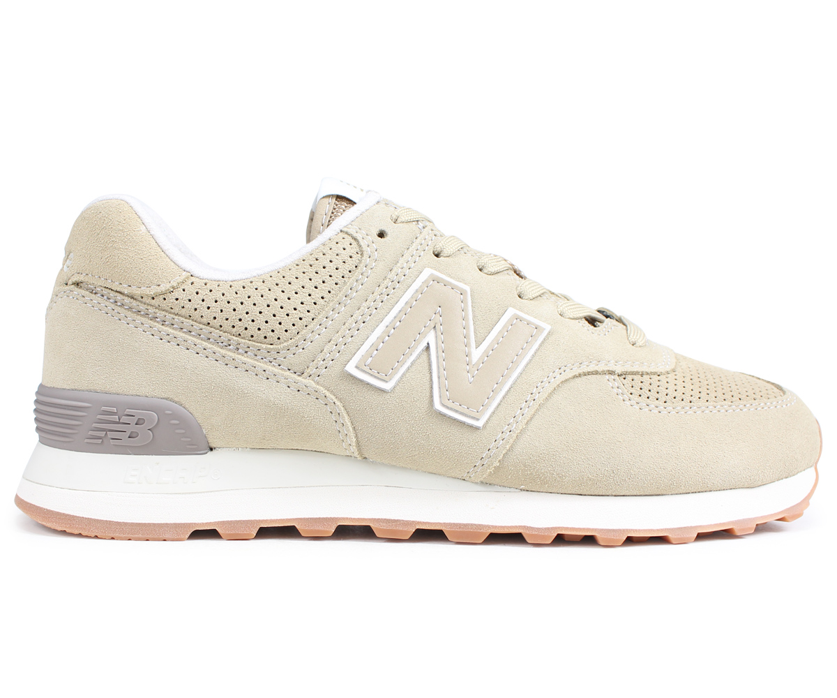the best attitude f261c e80eb New Balance new balance 574 men's sneakers ML574ESF D Wise beige