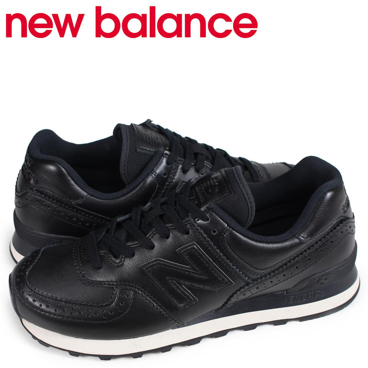 ブラック [10/26 スニーカー Dワイズ ニューバランス new balance 574 ML574LEK 新入荷] メンズ