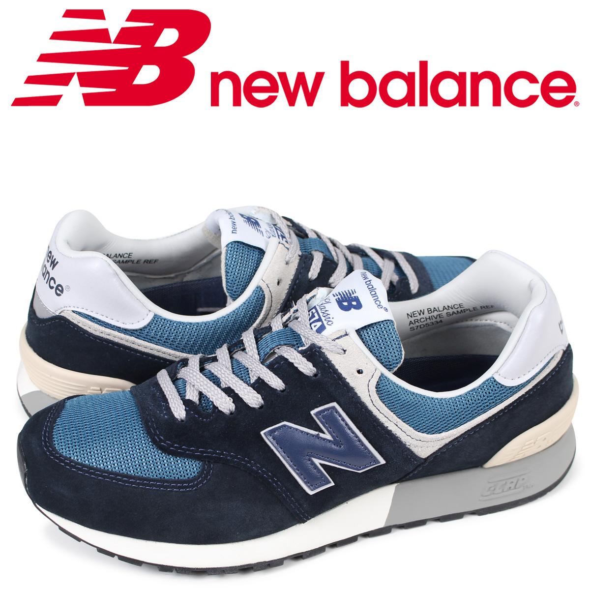 ニューバランス 574 メンズ new balance スニーカー MLP574CN Dワイズ ネイビー