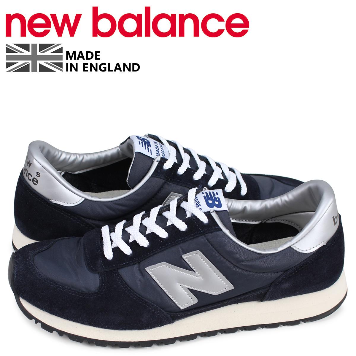 ニューバランス new balance スニーカー メンズ Dワイズ MADE IN UK ブラック 黒 MNC KSW