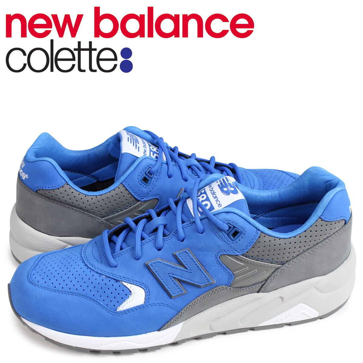 ニューバランス new balance MRT580 スニーカー Dワイズ メンズ コレット COLETTE コラボ ブルー MRT580C6