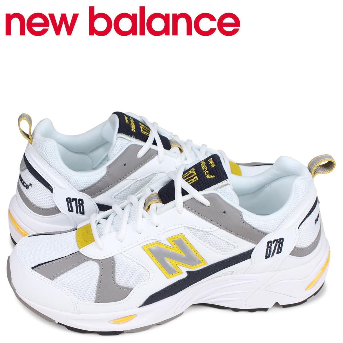 ニューバランス new balance スニーカー メンズ Dワイズ ホワイト 白 CM878TCA