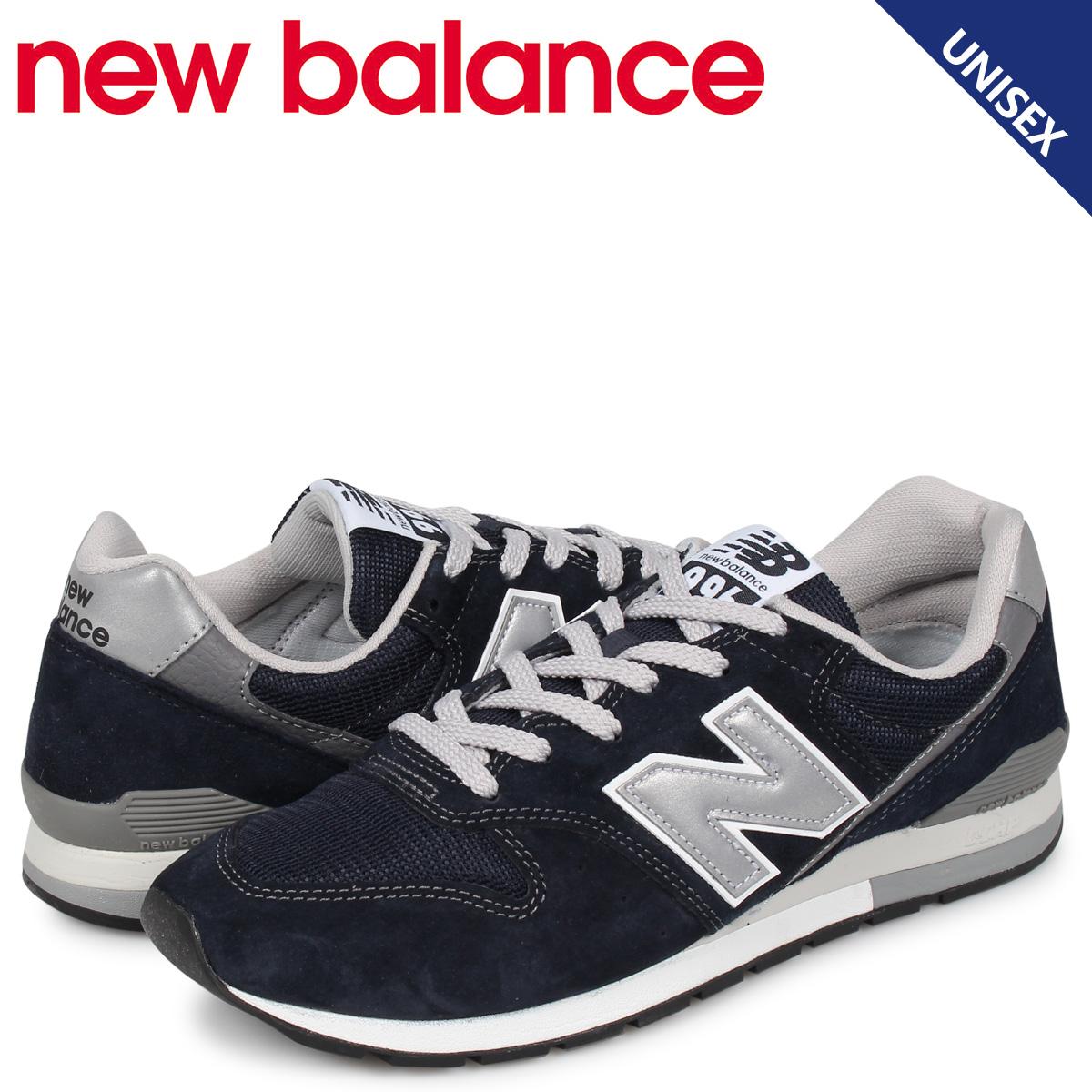 【お買い物マラソンSALE】 ニューバランス new balance 996 スニーカー メンズ レディース Dワイズ ネイビー CM996BN