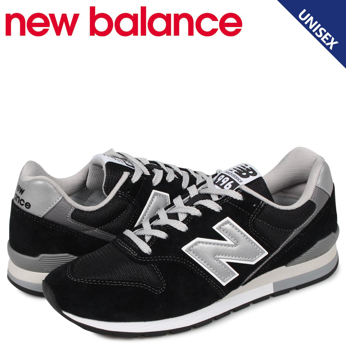 ニューバランス new balance 996 スニーカー メンズ レディース Dワイズ ブラック 黒 CM996BP [4/9 追加入荷]