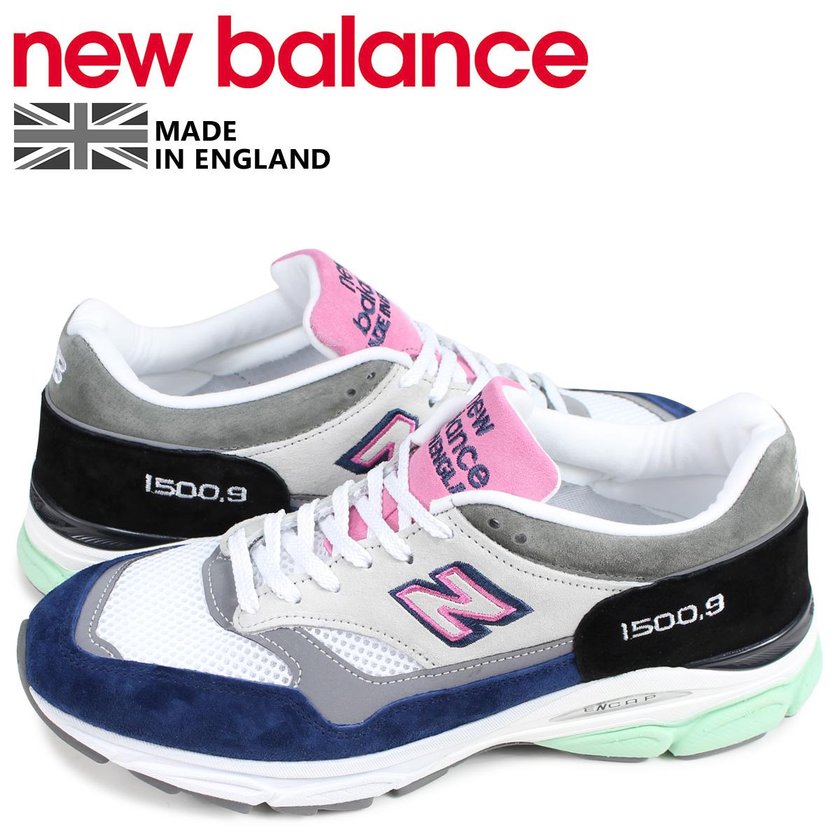 ニューバランス new balance 1500.9 スニーカー メンズ Dワイズ MADE IN UK ホワイト 白 M15009FR