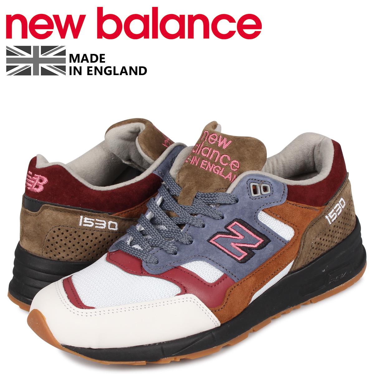 ニューバランス new balance 1530 スニーカー メンズ Dワイズ MADE IN UK ブラウン M1530WBB