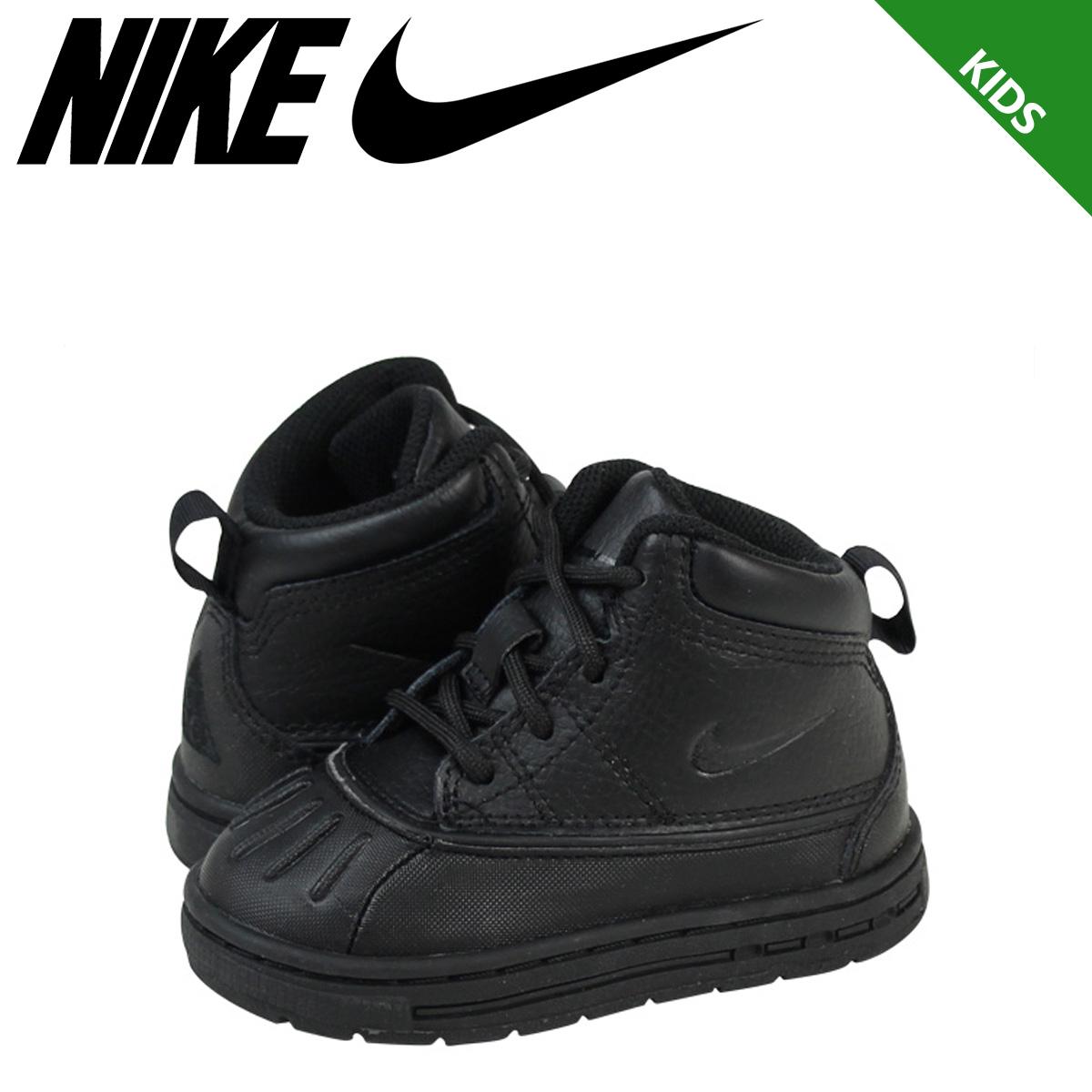 Black//Black BOYS NIKE WOODSIDE 2 HIGH 524872 001 GS
