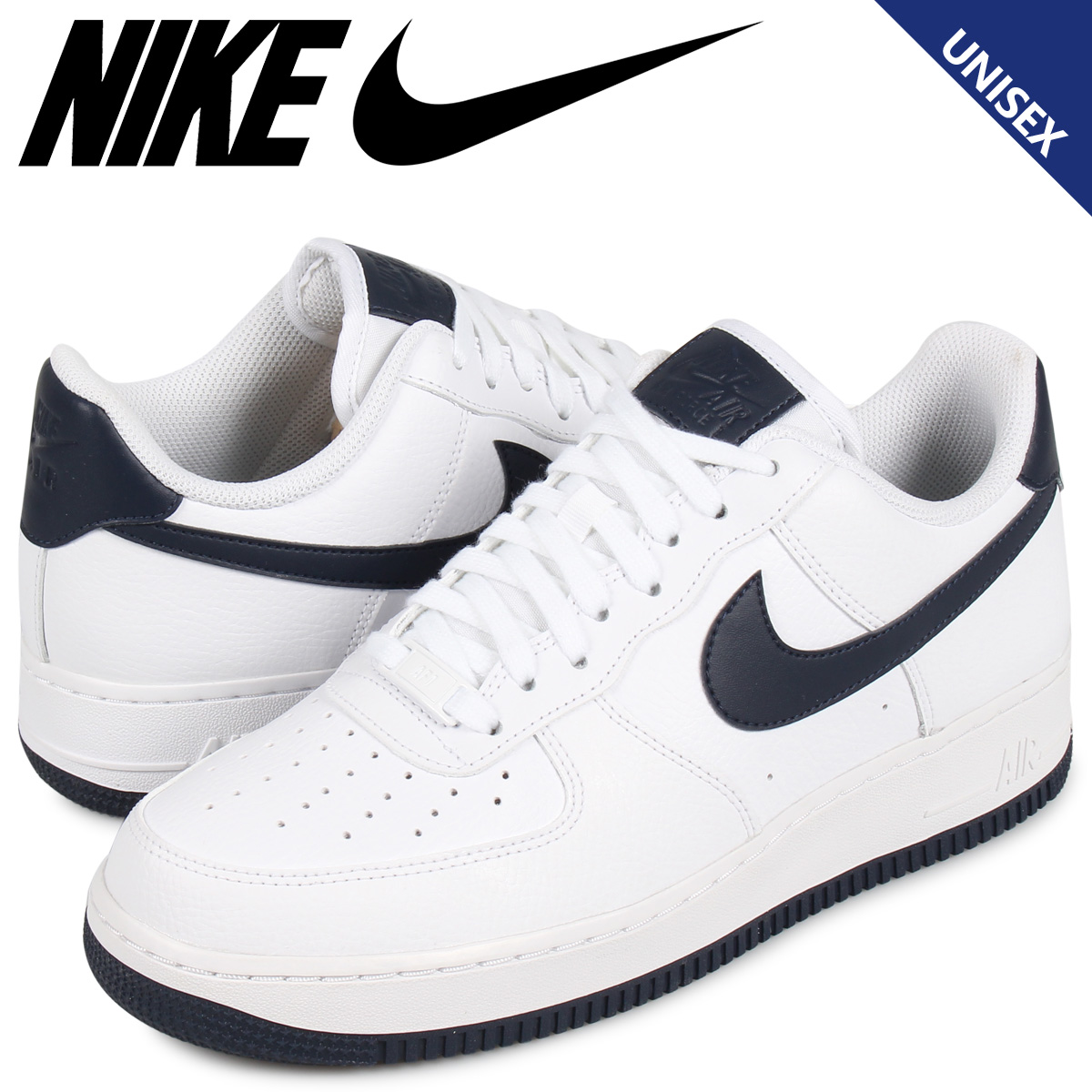 NIKE AIR FORCE 1 LOW QS SWOOSH PACK Nike air force 1 sneakers men AH8462 102 white [load planned Shinnyu load in reservation product 38 containing]