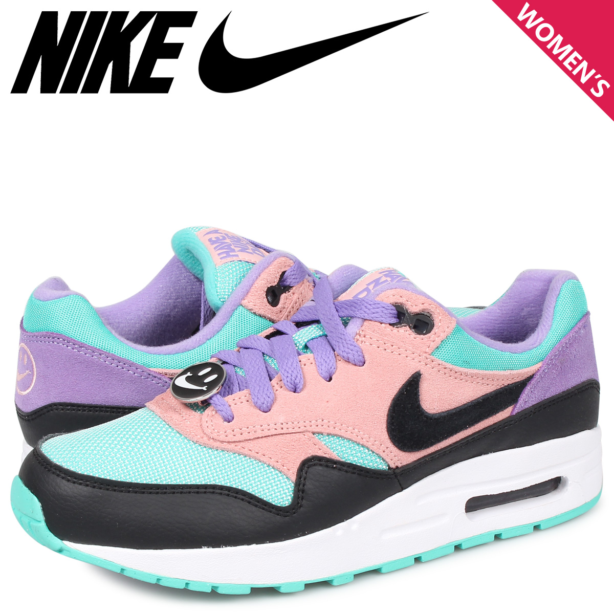 NIKE AIR MAX 1 NK DAY GS HAVE A NIKE DAY Kie Ney AMAX 1 sneakers Lady's pink AT8131 001