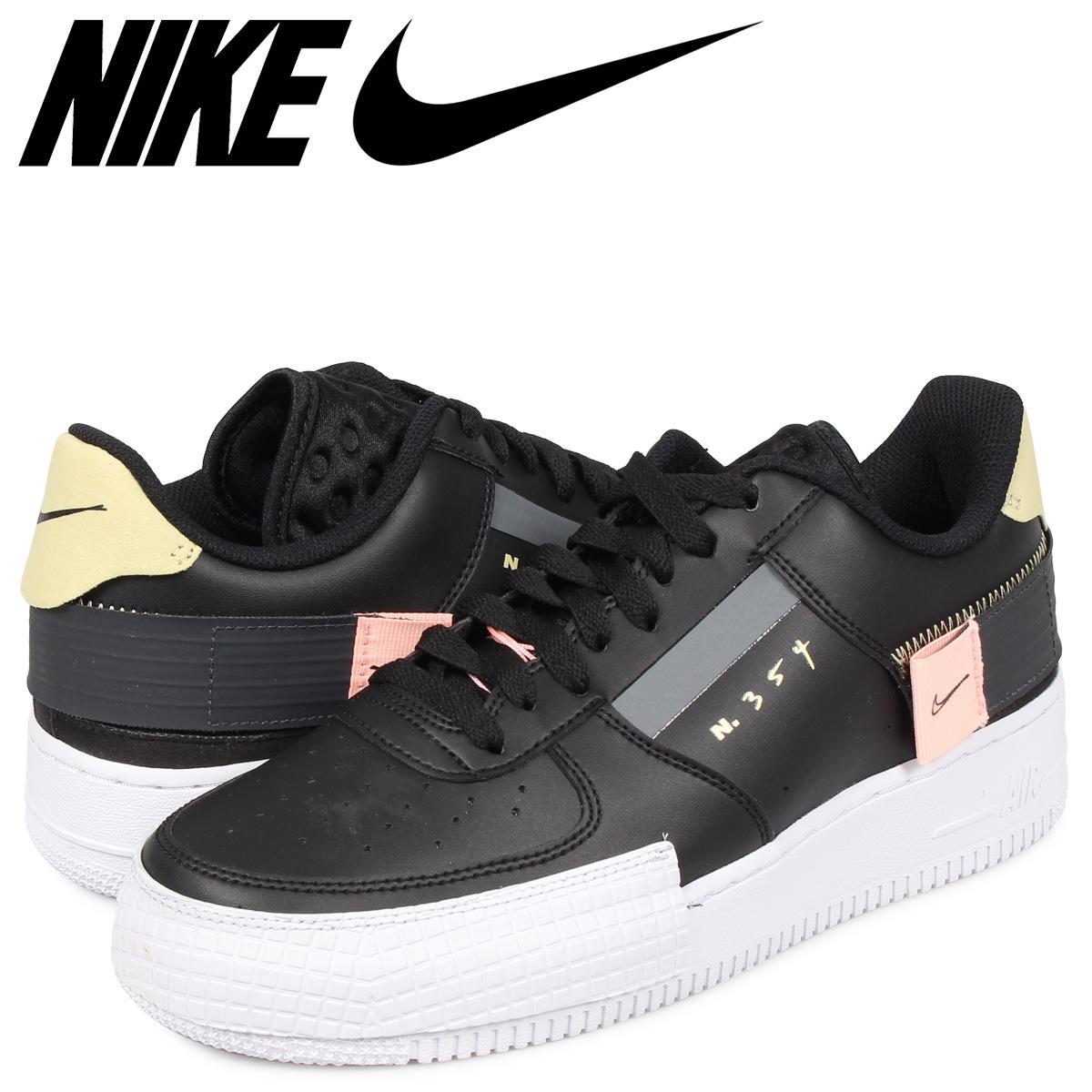 NIKE AIR FORCE 1 AF1 TYPE Nike air force 1 sneakers men black black CI0054 001