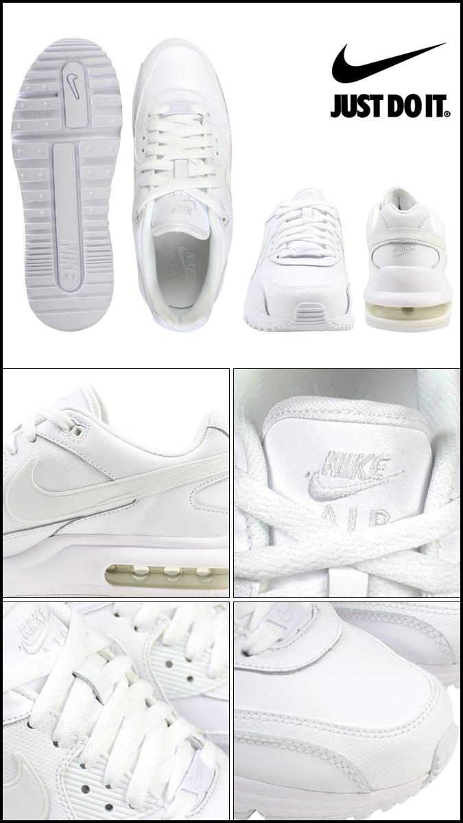 2 点 x 耐克妇女空气马克斯赖特有限公司 GS 运动鞋空气马克斯赖特有限公司女孩皮革孩子初中孩子女孩 317934-111 白色