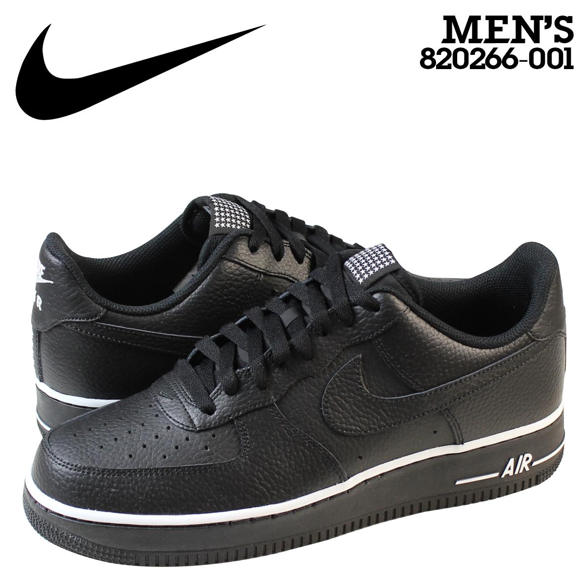 Nike NIKE air force sneakers AIR FORCE 1 07 air force 1 820,266 001 men's black