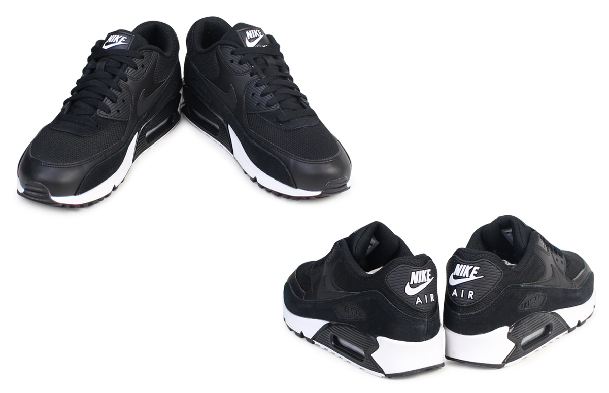 Shop Nike black Air Max 90 Essential 537384 077 for Men in