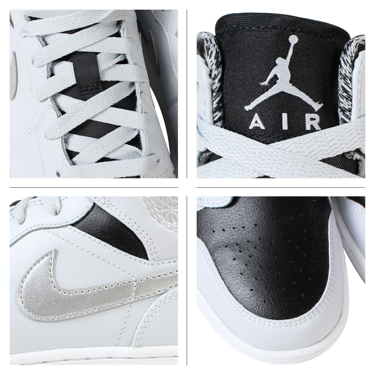 NIKE Nike Air Jordan sneakers Womens AIR JORDAN 1 MID BG Air Jordan 1 mid  554725 - 032 grey shoes [9/1 Add in stock]