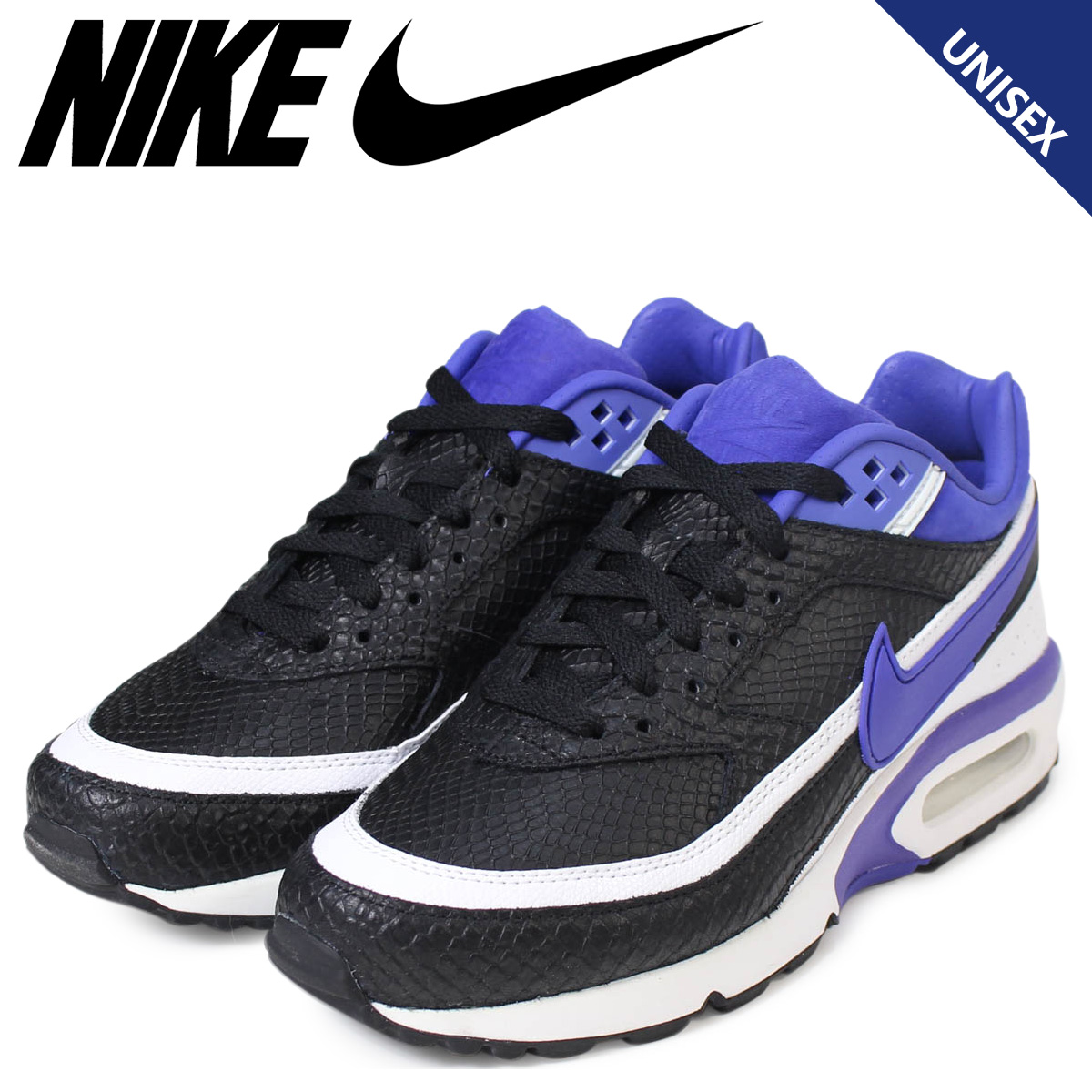 hot sale online bf201 81013 ... Nike NIKE Air Max Ladys sneakers AIR MAX BW PREMIUM 819,523-051 mens  shoes black ...