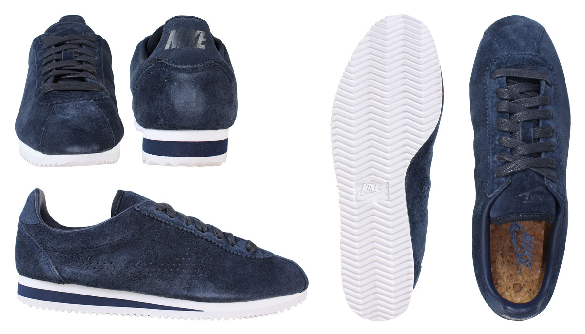 outlet store 32bfe ff405 ... ireland classic nike nike cortez sneakers 823914 400 lx cortez classic  mens shoes navy 8a851 5b966