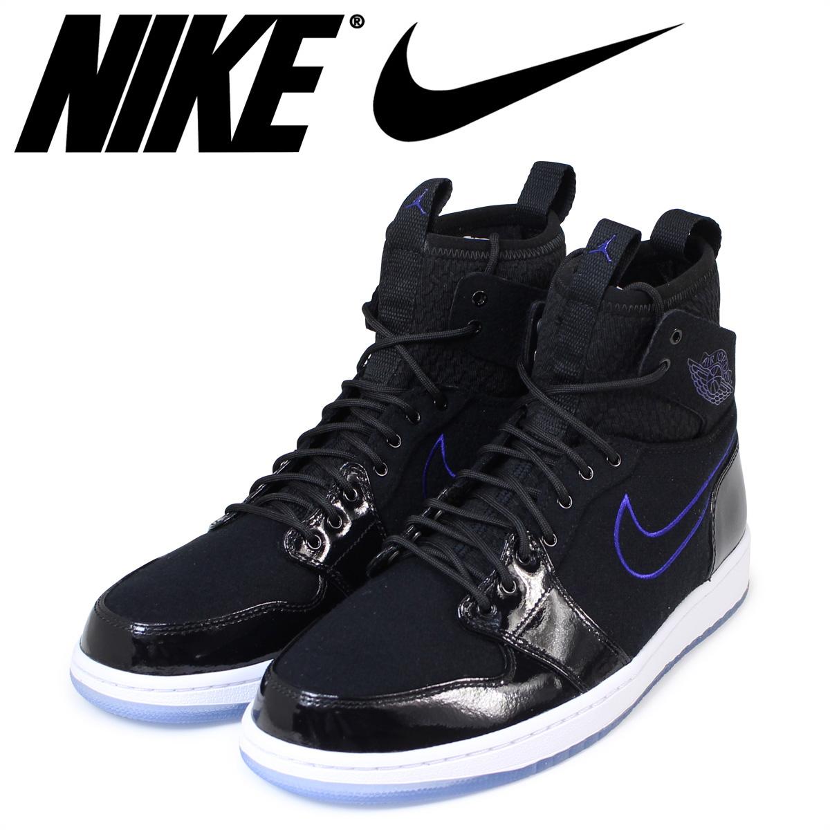finest selection 4fb71 65d63 NIKE AIR JORDAN 1 HIGH ULTRA SPACE JAM Nike Air Jordan 1 sneakers men high  ultra space black 844,700-002