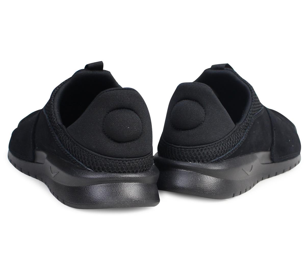 Nike NIKE べ ナッシスリップスニーカー BENASSI SLIP 882,410-003 slip-ons men shoes black  [8/5 Shinnyu load]