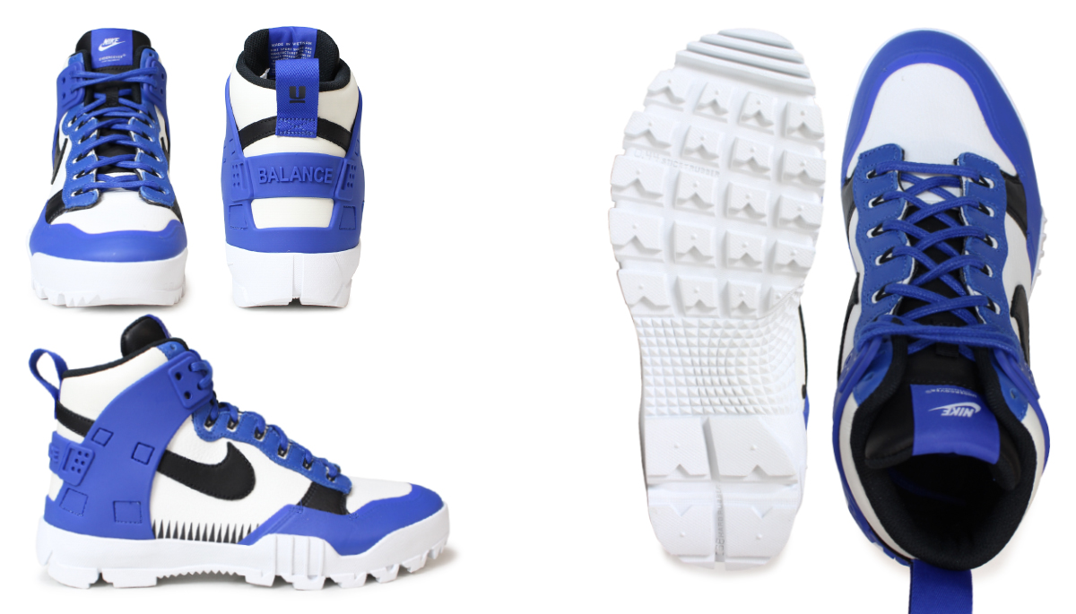 Nike NIKE dunk men sneakers under cover collaboration NIKELAB UNDERCOVER SFB JUNGLE DUNK 910,092-001 910,092-100 shoes [2/15 Shinnyu load]