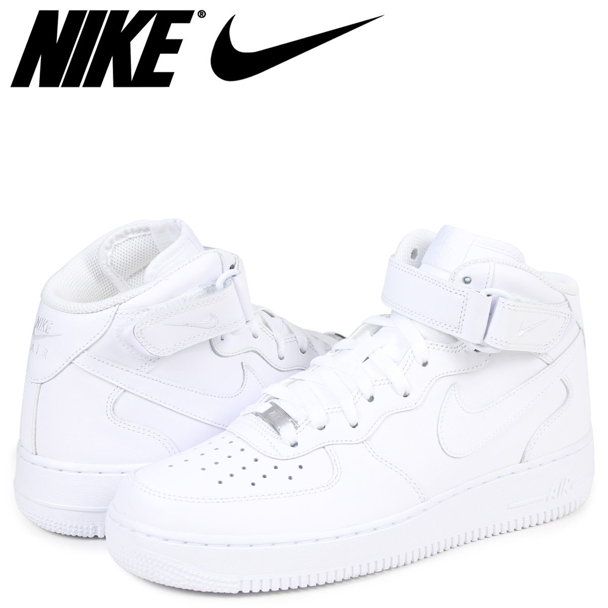 premium selection 3628a 9bfe9 NIKE AIR FORCE 1 MID 07 Nike air force 1 sneakers men white 315,123-111