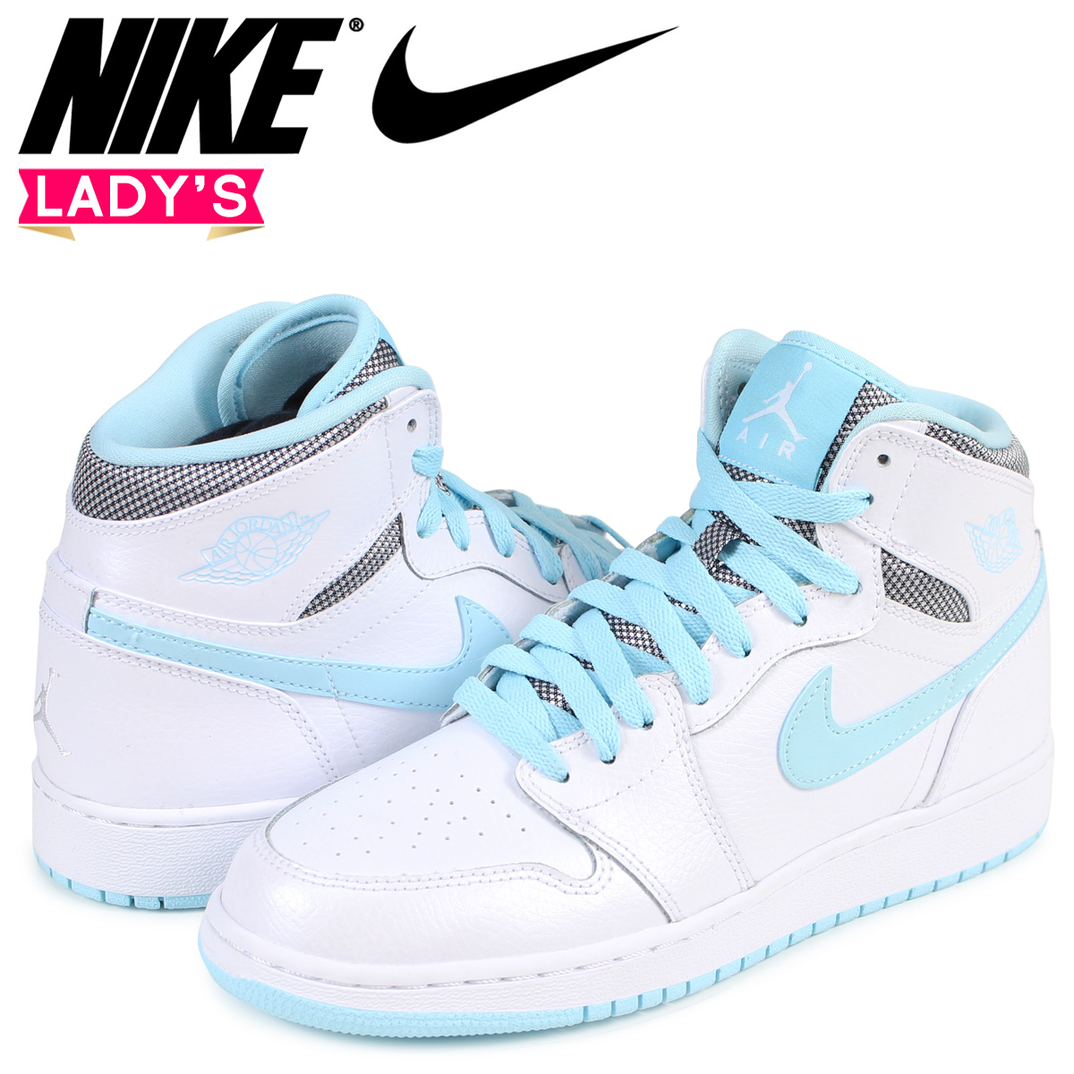 f44f152a3dc5 Nike NIKE Air Jordan 1 nostalgic lady s sneakers AIR JORDAN 1 RETRO HIGH GG  332