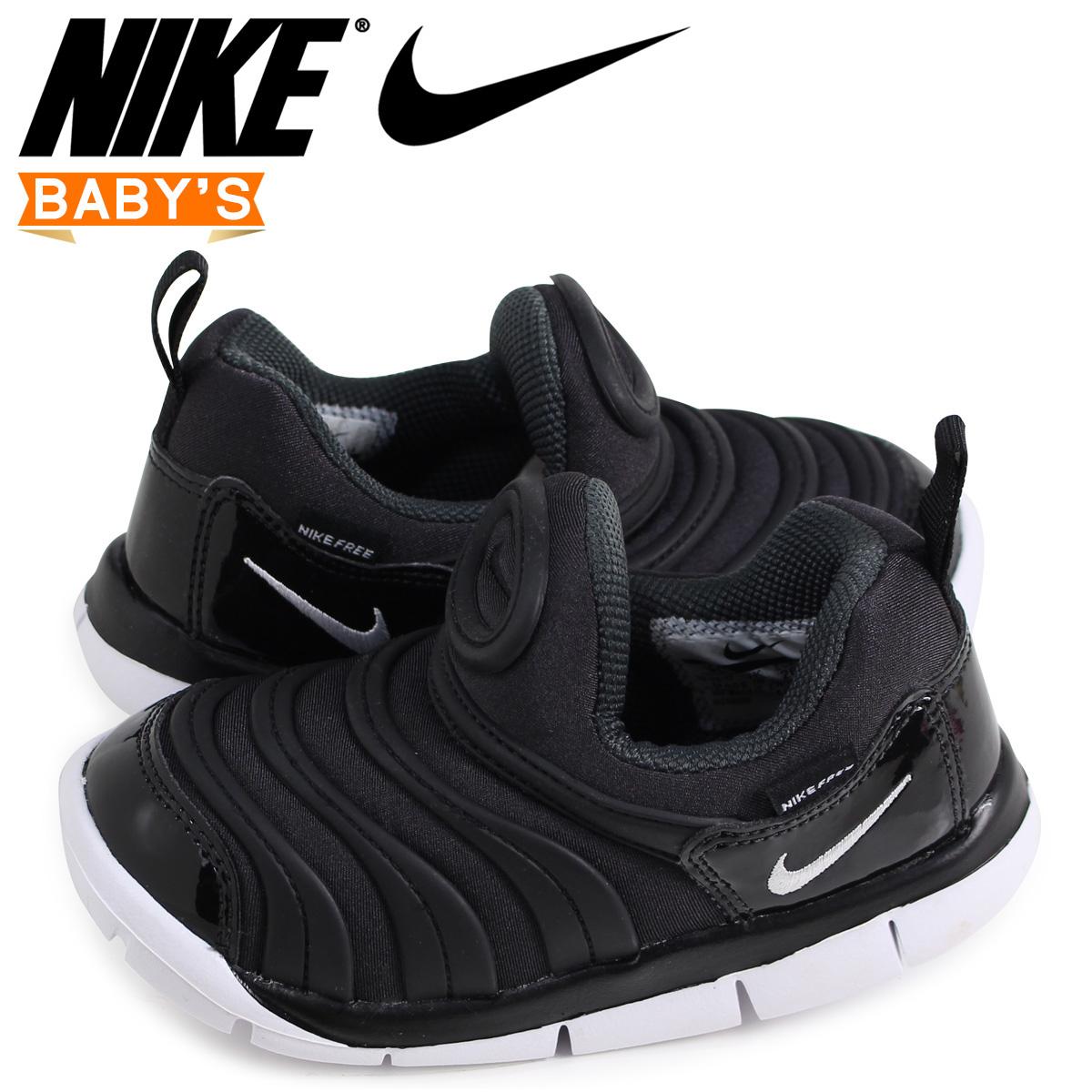 sneak online shop nike nike dynamo free baby sneakers dynamo free td 343 938 013 black 1 26. Black Bedroom Furniture Sets. Home Design Ideas