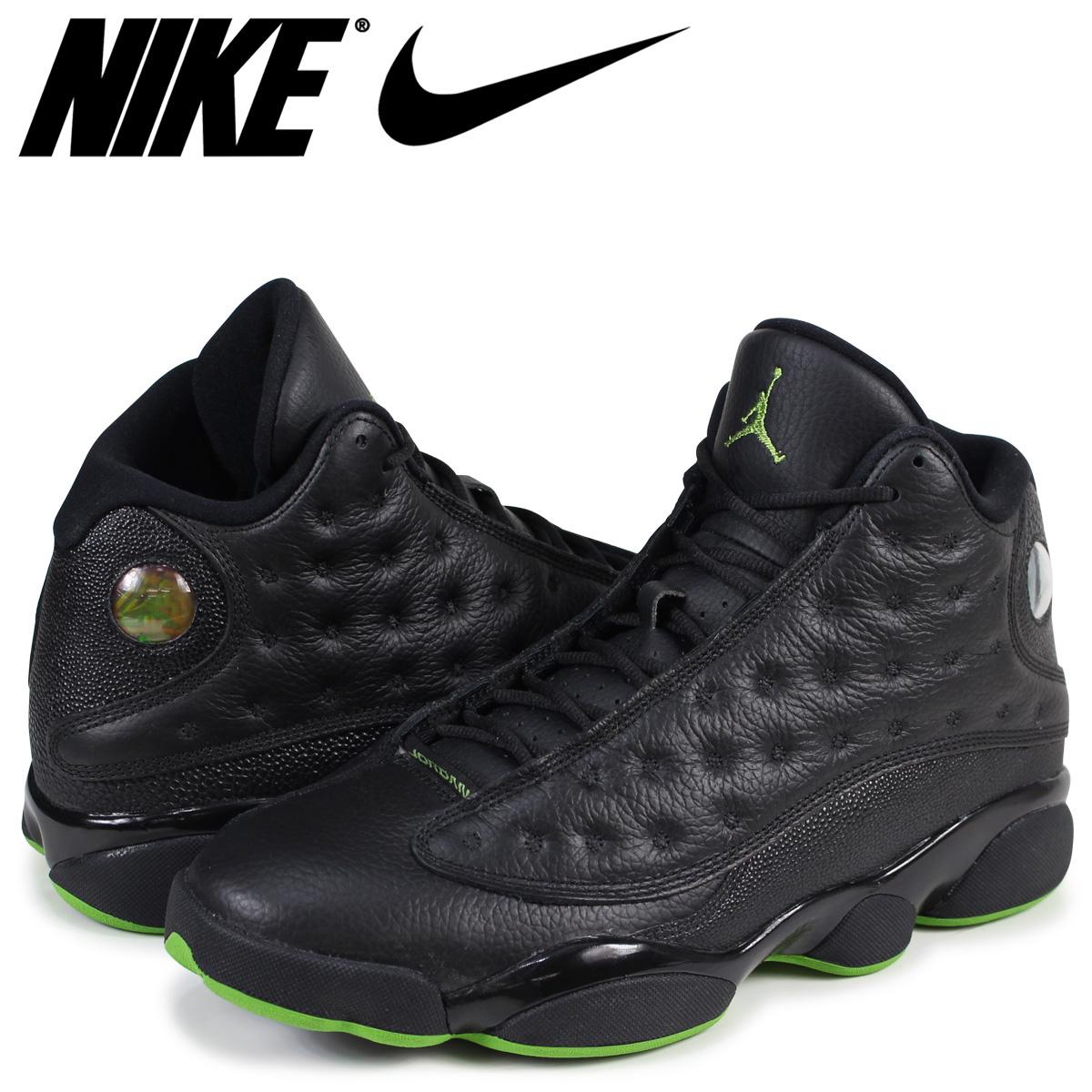 476f3ebc169 NIKE AIR JORDAN 13 RETRO ALTITUDE Nike Air Jordan 13 sneakers nostalgic men  black 414,571- ...