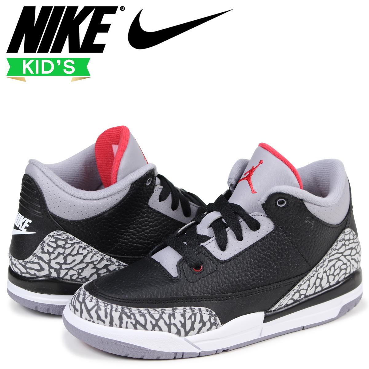 809690fc91f0 Nike NIKE Air Jordan 3 nostalgic kids sneakers AIR JORDAN 3 RETRO BP 429