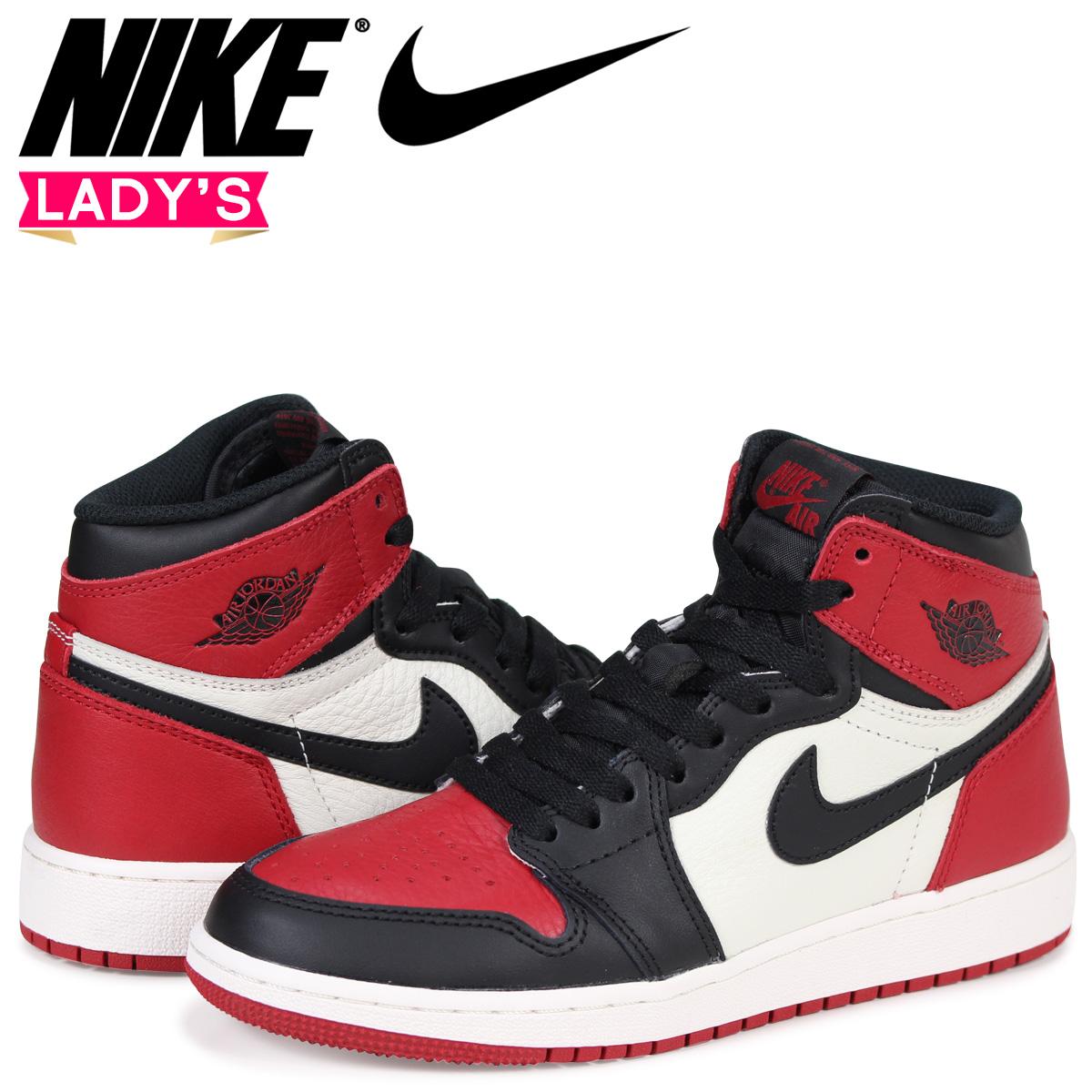 73a84363a62 Nike NIKE Air Jordan 1 nostalgic Haile Dis sneakers AIR JORDAN 1 RETRO HIGH  OG BG ...