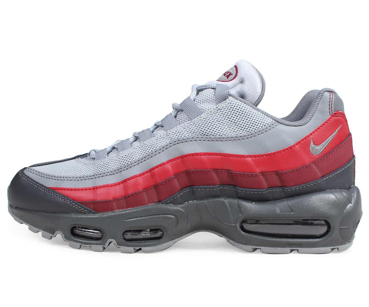 Nike Air Max 95 Essential Men's Shoes Anthracite Cool Grey Wolf Grey 749766 025