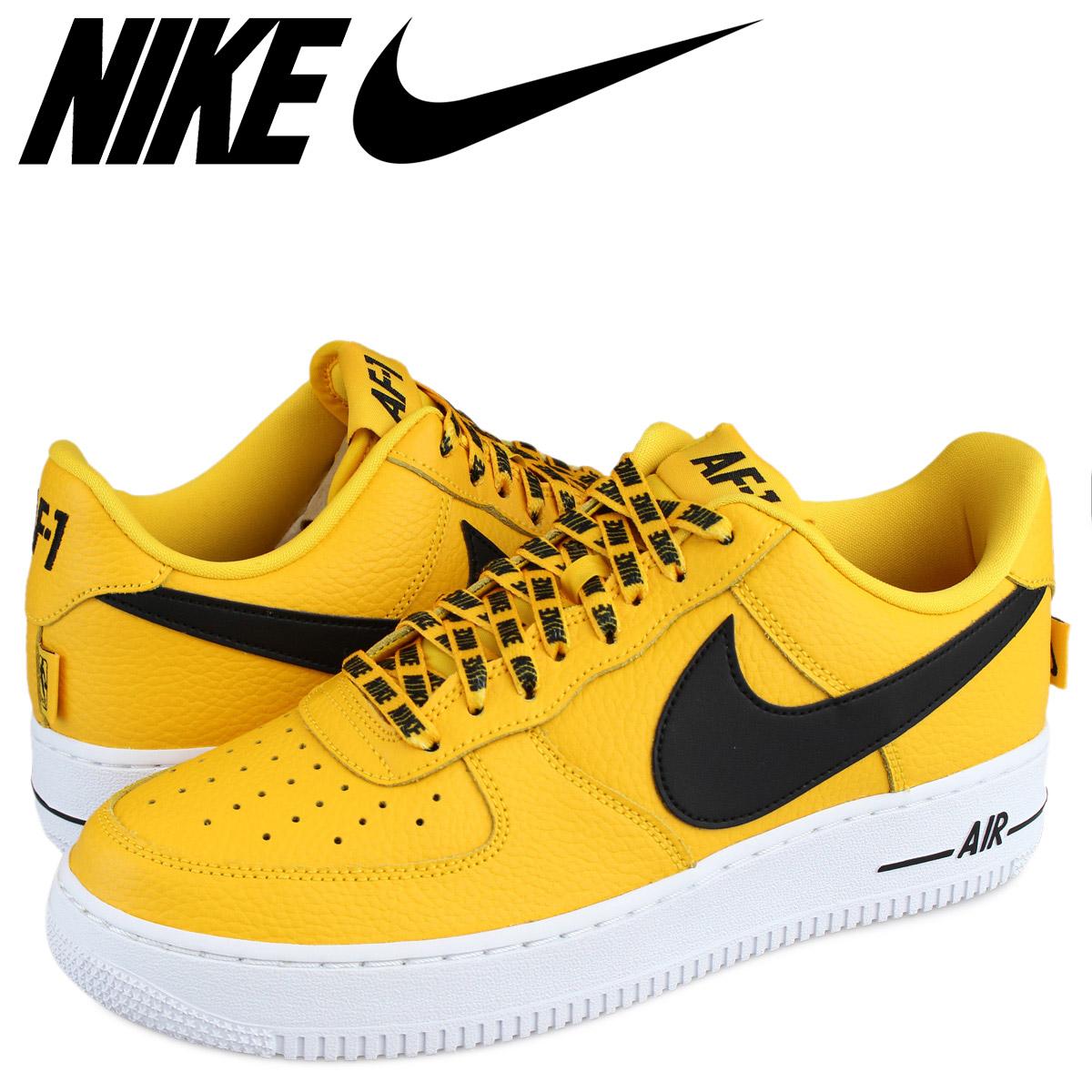 Nike NIKE air force 1 07 LV8 sneakers AIR FORCE 1 NBA 823,511 701 men's yellow