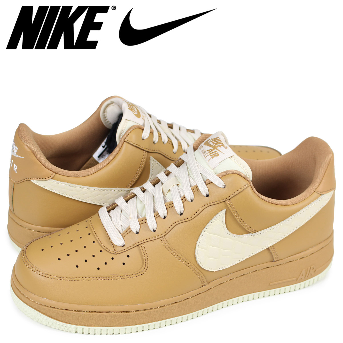 NIKE AIR FORCE 1 07 LV8 Nike air force 1 sneakers men beige 823,511 703