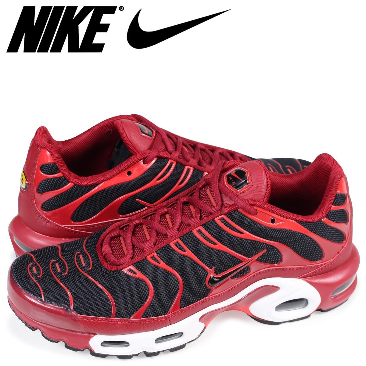 size 40 2d790 4a2d6 Nike NIKE Air Max plus sneakers AIR MAX PLUS 852,630-601 men's red