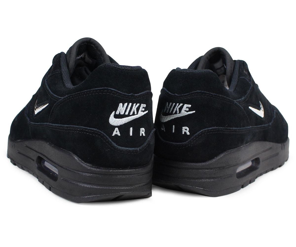 Nike NIKE Air Max 1 premium sneakers AIR MAX 1 PREMIUM SC 918,354 005 men's black