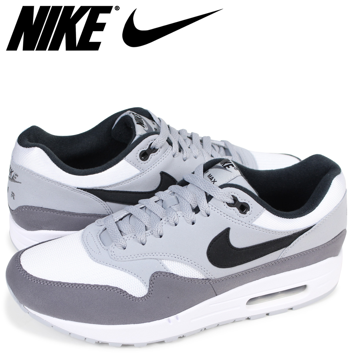 Nike NIKE Air Max 1 sneakers men AIR MAX 1 AH8145 101 white