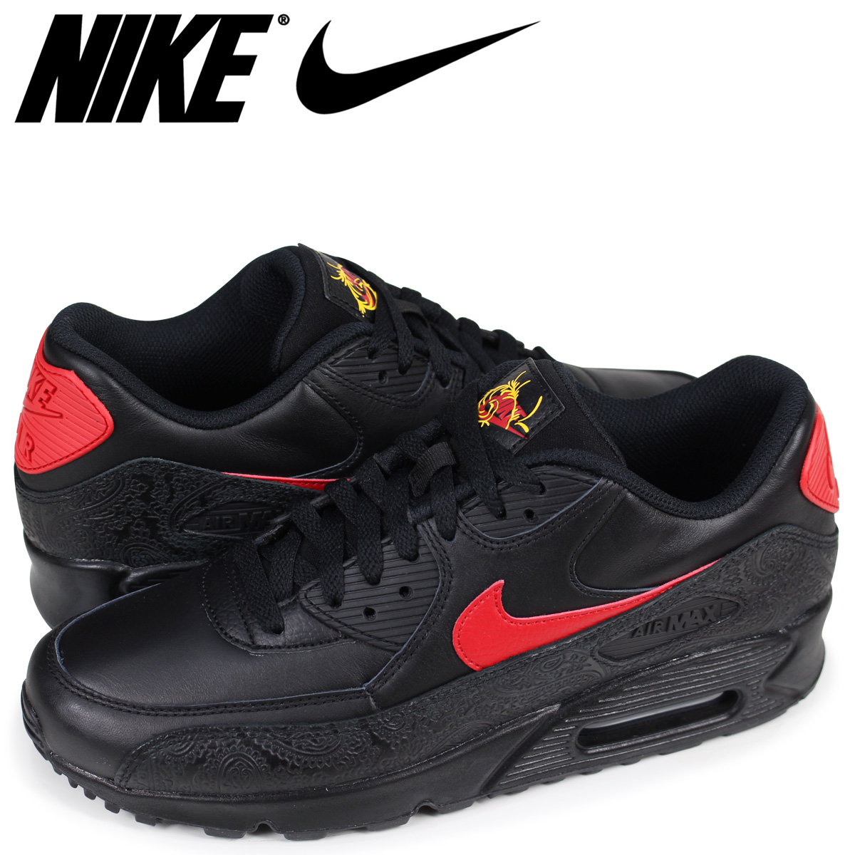 8f15d18d56 ... coupon code nike nike air max 90 sneakers men air max 90 f ao3152 001  black