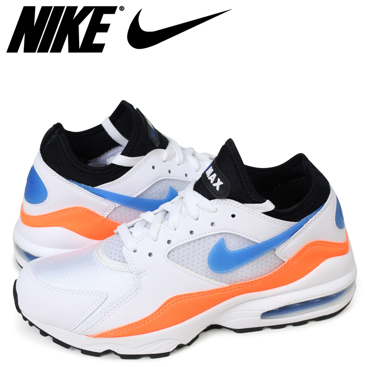 hot sale online b1efb 010ad Nike NIKE Air Max 93 sneakers men AIR MAX 93 306,551-104 white