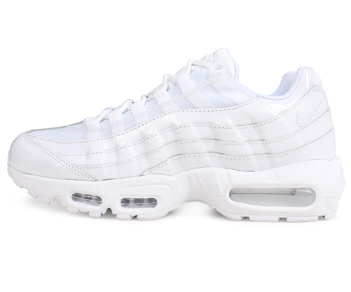 c4d9364c0e ... Nike NIKE Air Max 95 sneakers Lady's men WMNS AIR MAX 95 307,960-108  white ...