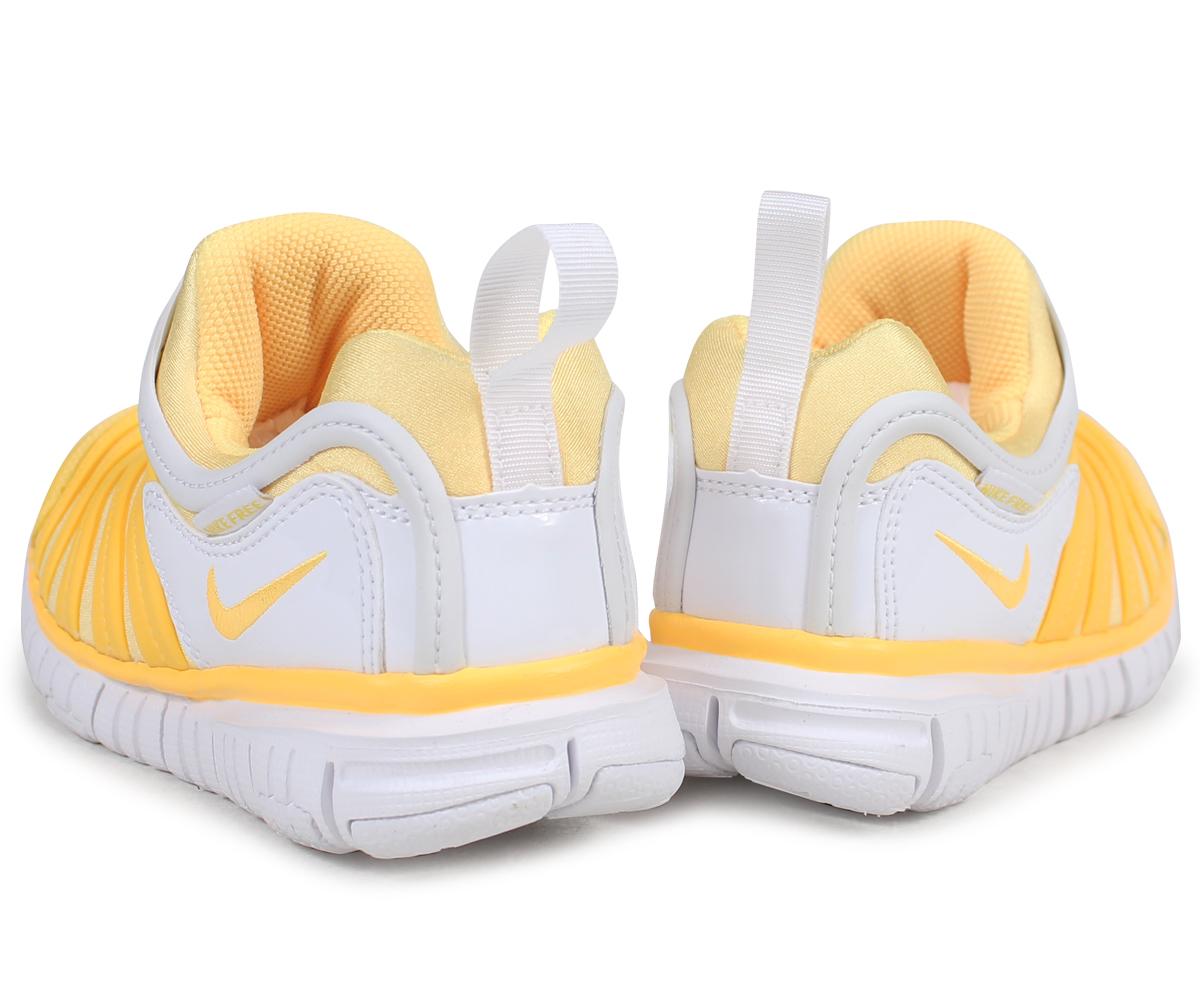 sneak online shop nike nike dynamo free kids sneakers dynamo free ps 343 738 806 yellow 3 23. Black Bedroom Furniture Sets. Home Design Ideas
