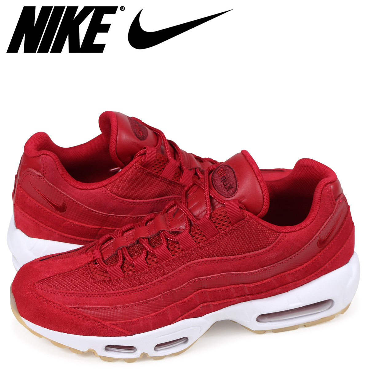 new concept fff2c a6b8b Nike NIKE Air Max 95 sneakers men AIR MAX 95 PREMIUM 538,416-602 red