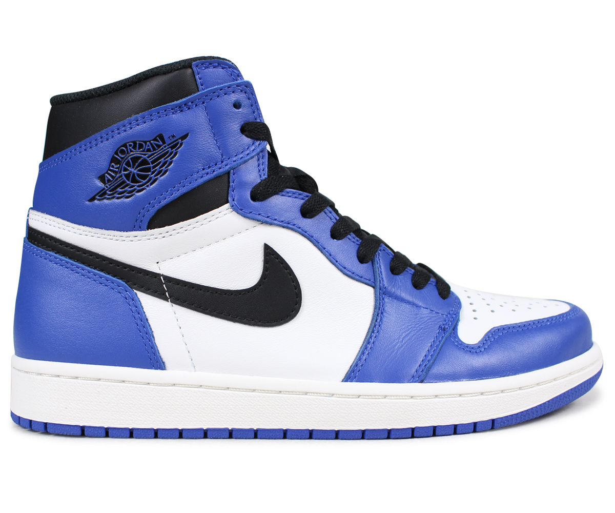 NIKE AIR JORDAN 1 RETRO HIGH OG GAME ROYAL Nike Air Jordan 1 sneakers nostalgic high men blue 555,088 403