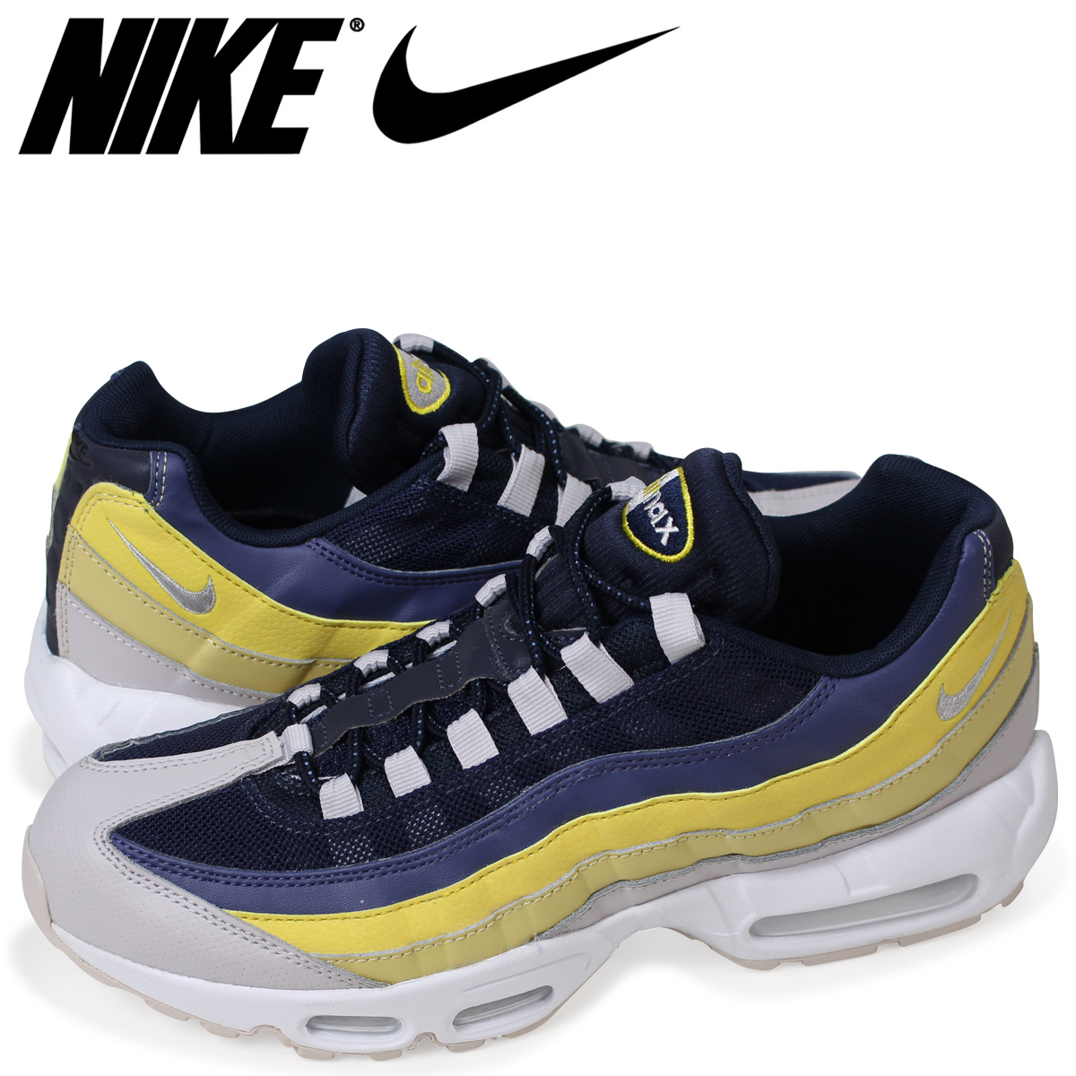 new products 92651 aac9e Nike NIKE Air Max 95 essential sneakers men AIR MAX 95 ESSENTIAL 749,766-107  white load planned Shinnyu load in reservation product 423 containing