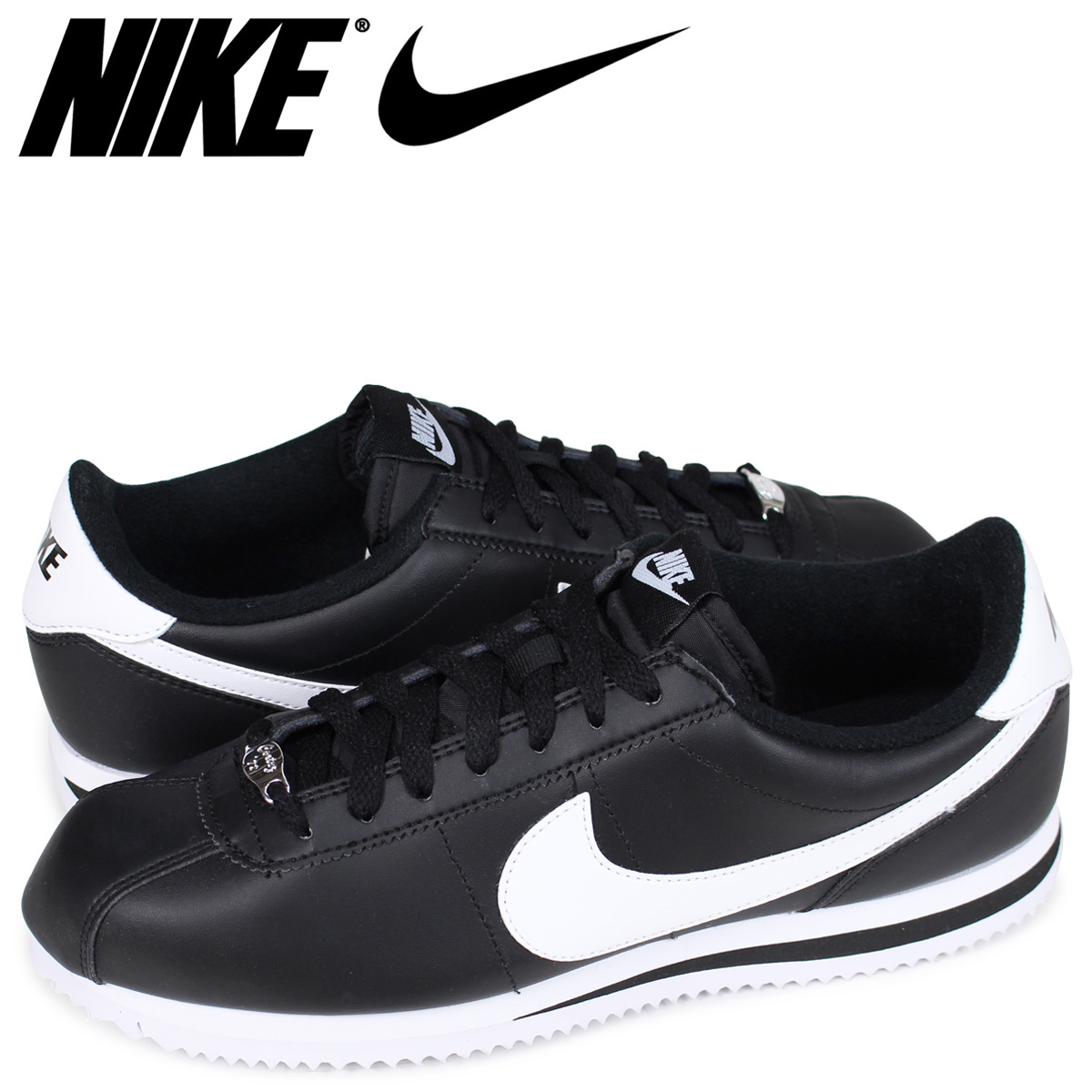 nike cortez women black