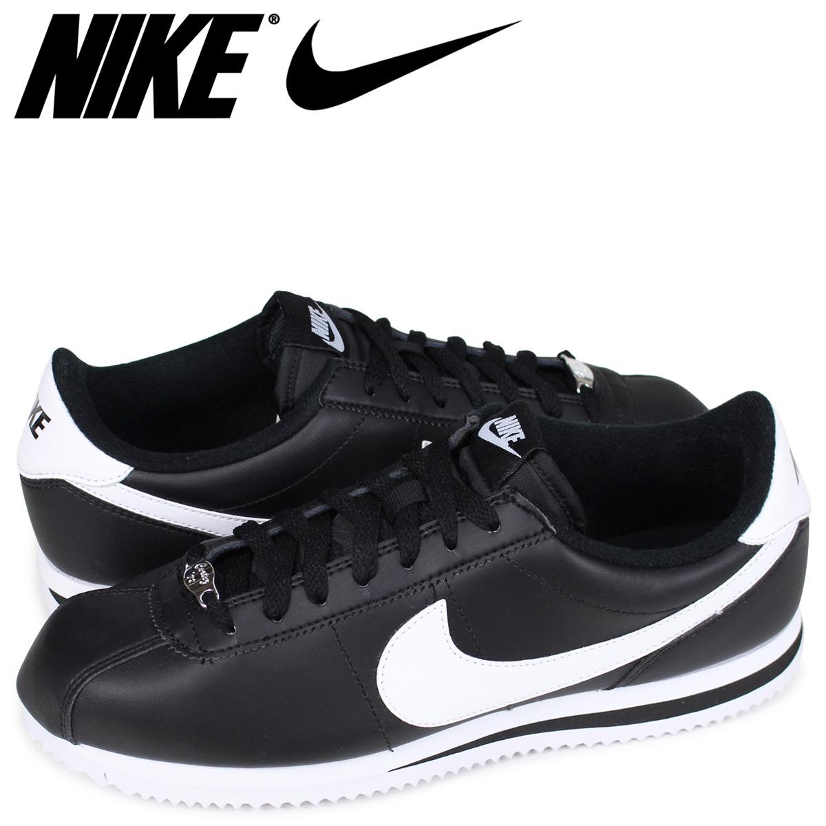 on sale 04326 91c5b ... sweden nike nike cortez sneakers cortez basic leather 819719 012 mens  shoes black d83a4 eff7a