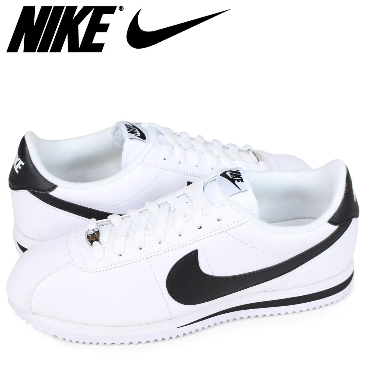 44de99454292 NIKE Nike Cortez sneakers CORTEZ BASIC LEATHER 819719-100 men s shoes white